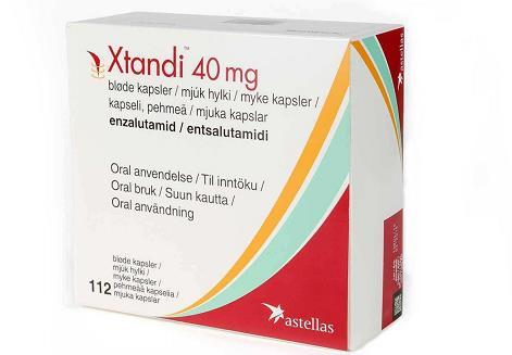 恩扎鲁胺(enzalutamide)安可坦