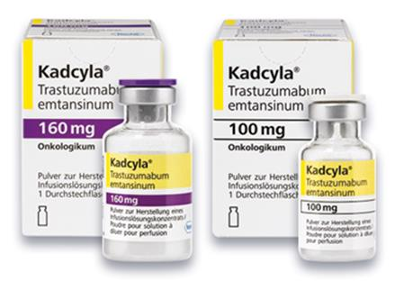 FDA批准Kadcyla用于治疗HER2阳性晚期乳腺癌