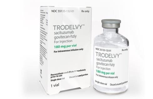 首个治疗转移性三阴性乳腺癌的抗体偶联药物获批