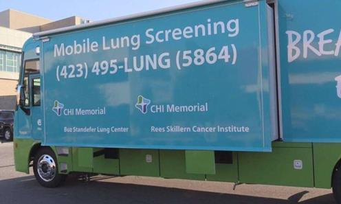 肺部检查巴士: 将高科技医疗直接带给患者