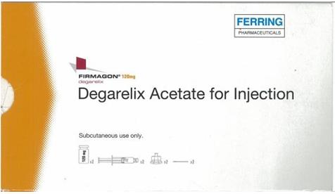 Firmagon (Degarelix Injection) 注射用醋酸地加瑞克(费蒙格)